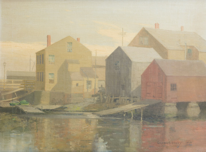 Clarence Braley - New Bedford Massachusetts Harbor