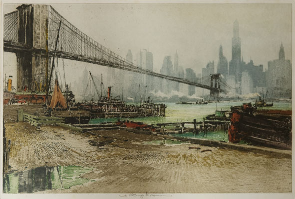 Luigi Kasimir - Brooklyn Bridge